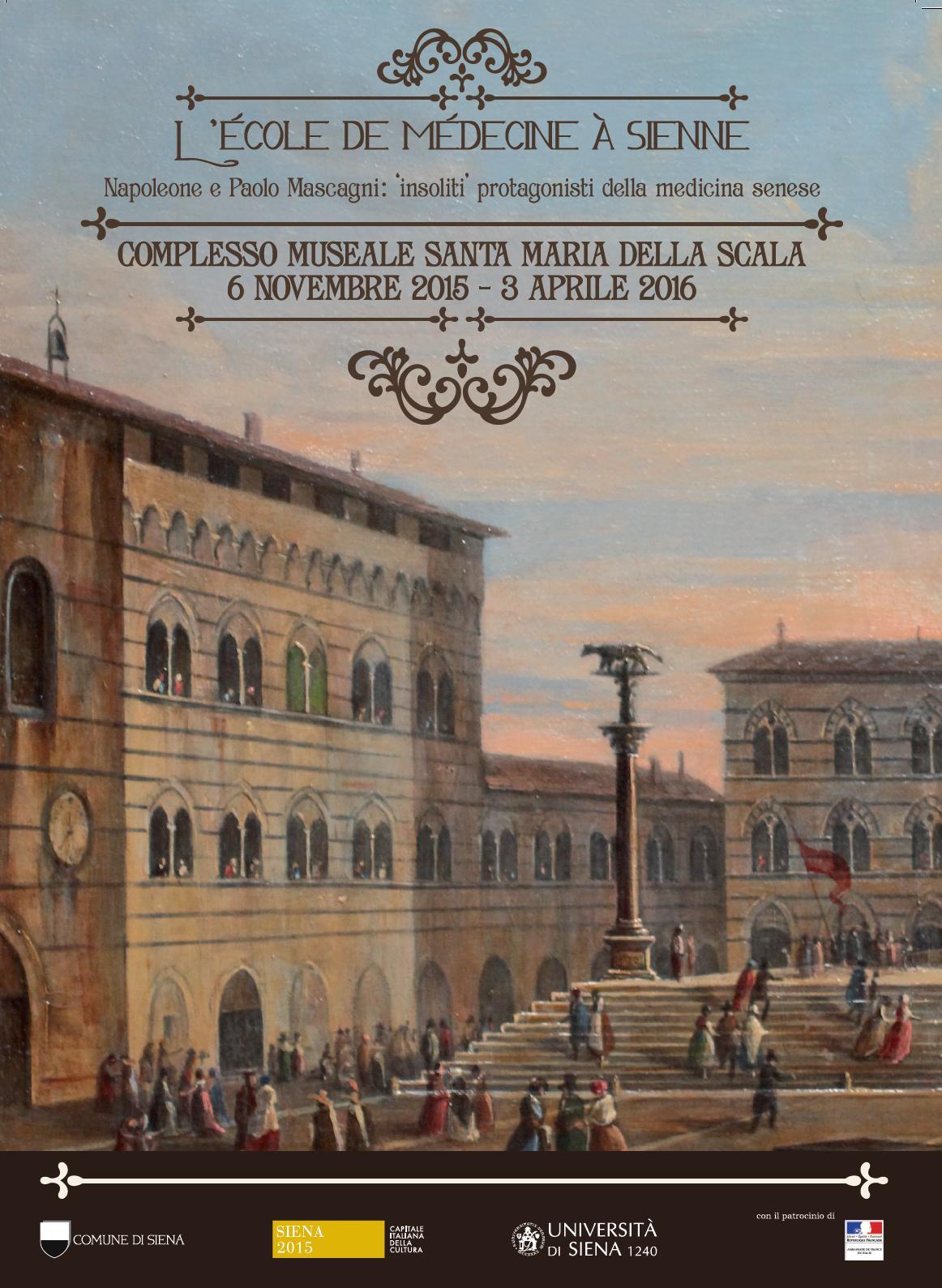 L'école de Médecine à Sienne. Napoleone e Paolo Mascagni 'insoliti' protagonisti della medicina senese