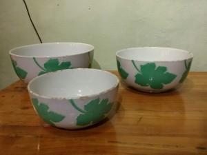 Tre ceramiche Manifattura Galvani 1938