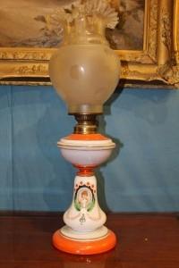 Lampada in opalina fine '800