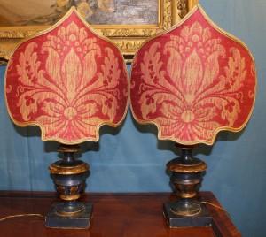 Coppia di lumi in stile Impero XIX secolo