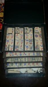 Gioco completo del Mahjong anni '40